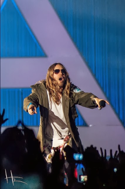 Live Report : Thirty Seconds To Mars + Twin Atlantic @ Le Zénith, Paris - 18/02/14 Jared