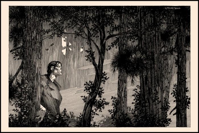 [bank] Les artistes que vous adorez - Page 4 Bernie-Wrightson-Frankenstein-endpaper-print-nakatomi