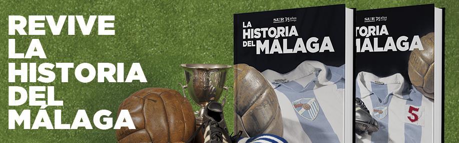 Revive la historia del Málaga ( coleccionable Diario sur ) Historia-del-malaga-promociones-diario-sur