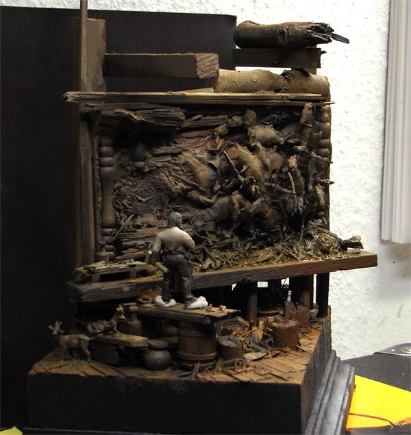 Le sculpteur sur bois.... Aseee