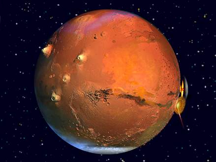 EVIDENCE OF A MASSIVE THERMONUCLEAR EXPLOSION ON MARS IN THE PAST  Mars-war