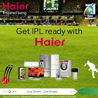 Participate in 'Share your Idea' contest : Win exciting Haier goodies! Haier