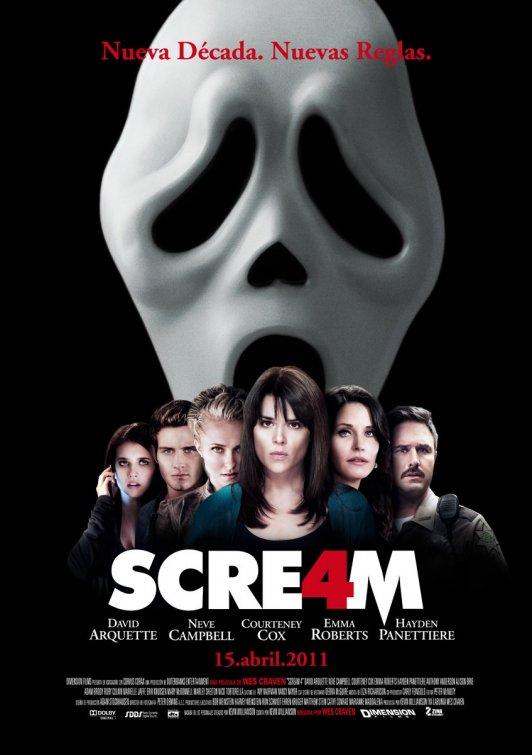 que habeis visto? - Página 11 Scream%2B4%2BInternational%2BPoster