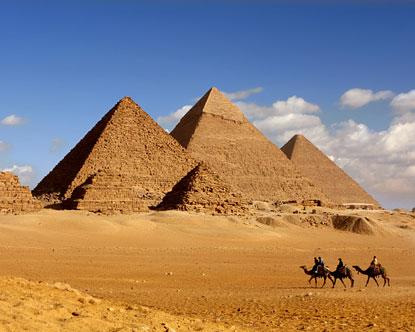 Did Dinosaurs Build The Pyramids? Pyramids