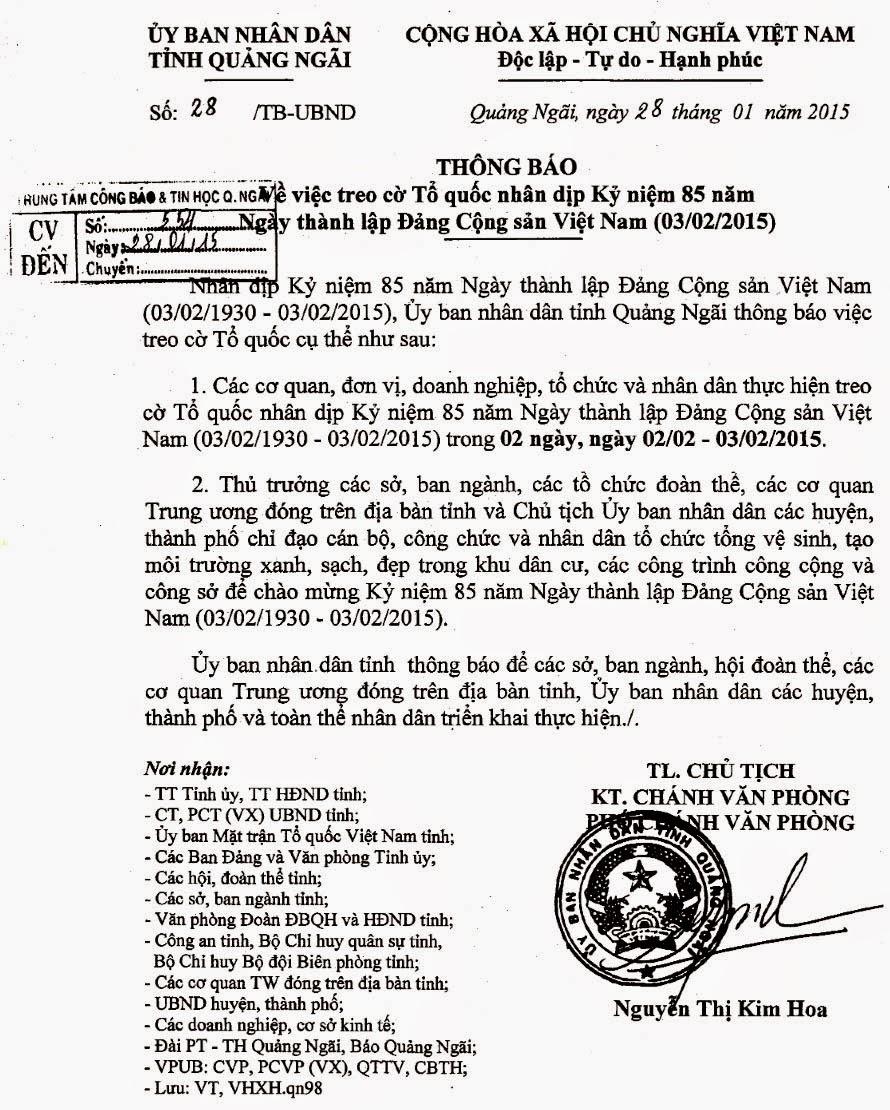 không - Còn Cờ Đỏ Sao Vàng, Cờ Máu Thì Không Bao Giờ Có Độc Lập, Tự Do, Hạnh Phúc Treoco-thanhlapdang-danlambao