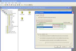 Como Restaurar uma Database no SQL Server 2000 Part8