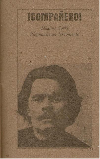 """""""¡Compañero!"""" - cuento de Máximo Gorki - publicado en junio de 2013 en el blog Cuestionatelotodo Pag25"""