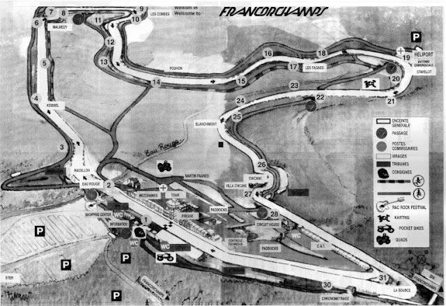HISTORIA DEL CIRCUITO DE SPA-FRANCORCHAMPS Spa