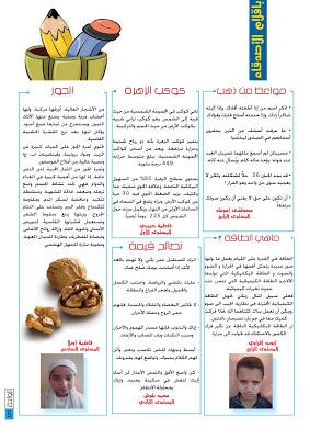 المجلة المدرسية  مجلة الواحة للتحميل العدد 6 - صفحة 2 Template217