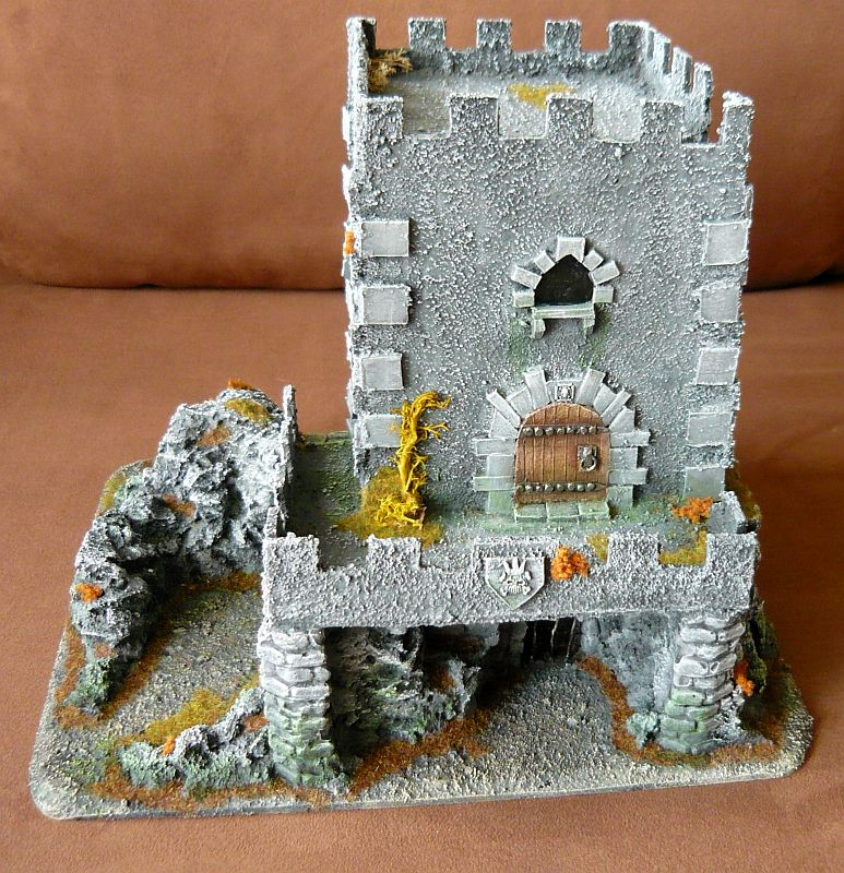 Dwalthrim's smithy - my table and terrain Dt02