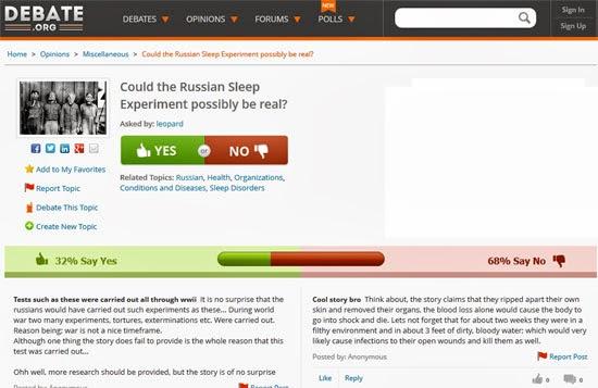Το απάνθρωπο Ρωσικό πείραμα αϋπνίας...? 3