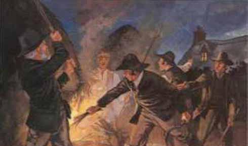 Riots in London Swing