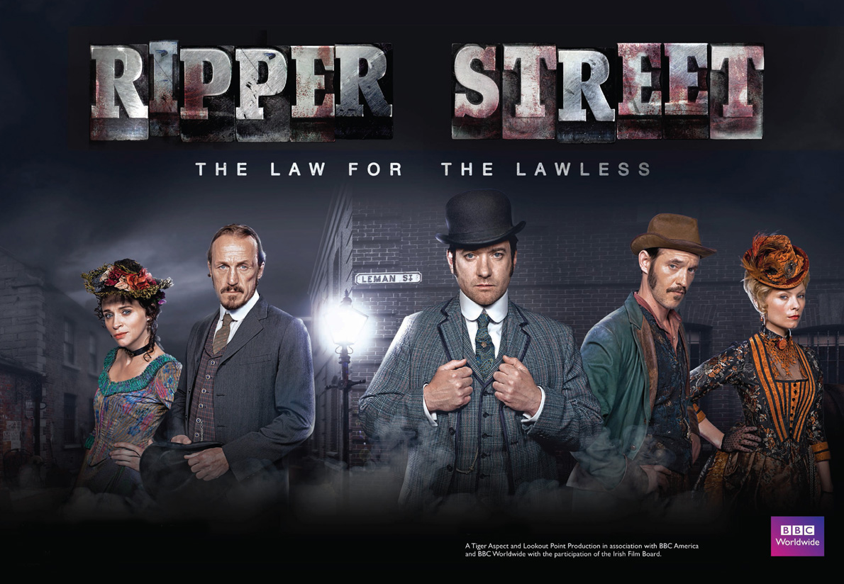 Series de época. Ripper-Street-Poster