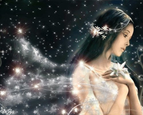 * ✿ UN  MUNDO DE MAGIA , EN DONDE TAMBIEN EXISTEN LAS HADAS ... ✿ *  - Página 2 Hada%2Bde%2Bestrellas%2By%2Bflores