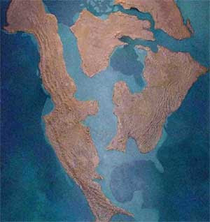 La Grande Arnaque du Réchauffement Climatique  Mesozoic_inland_sea