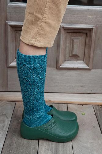 Provocare tricotat nr. 1 - Şosete, botoşei, jambiere. PrettySocks5