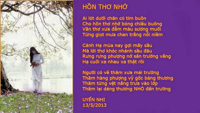 TRANH THƠ - UYENNHI HONTHONHO