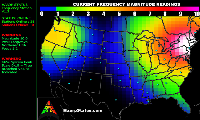 HURRICANE SANDY MEDITATION FOR NYC  Haarpstatusmap-resized