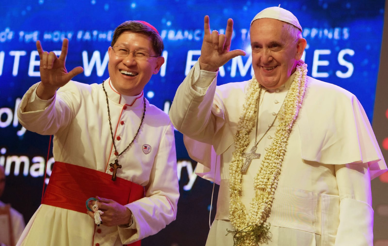Francisco, reinado o pontificado. - Página 10 Tagle%2BFrancesco%2BAP