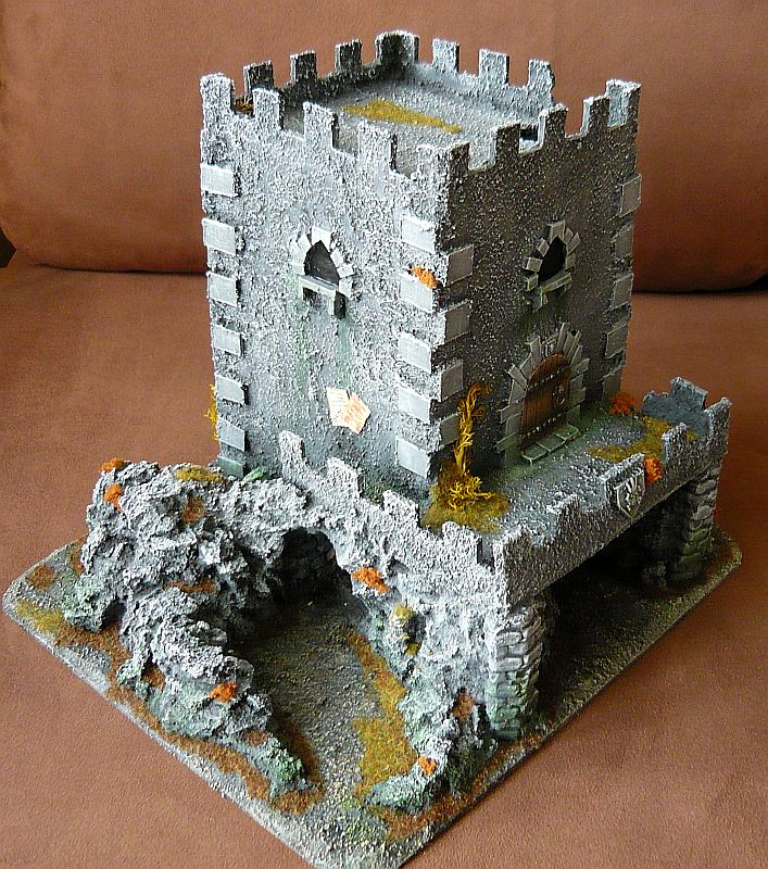 Dwalthrim's smithy - my table and terrain Dt04