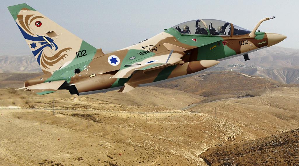 Israel - Me-346 de Entrenamiento de la Fuerza Aérea de Israel. PFK