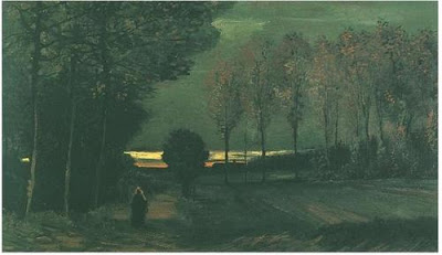 Vladislav Petković Dis - Page 3 Vincent-van-Gogh-Autumn-Landscape-at-Dusk-Oil-Painting