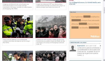 Cómo el diario Público manipula la información sobre la RPD de Corea Manipulacion_publico