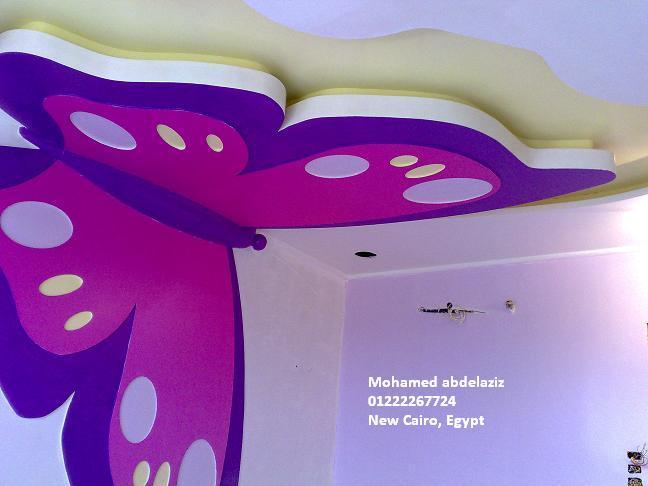 اشكال مختلفه من ديكورات الاسقف بالجبسون بورد gypsum boards و اسعاره في مصر 2012  M7md3bd4ziz