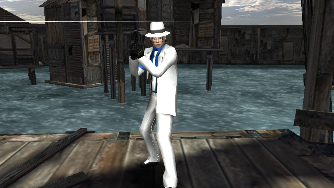 Michael Jackson Model 3d REAL for Wesker + OST music + video (smooth criminal) 2