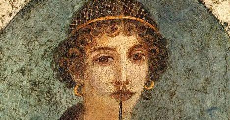 Adagio para cuerdas La-llamada-safo-cuarto-estilo-fresco-pompeya