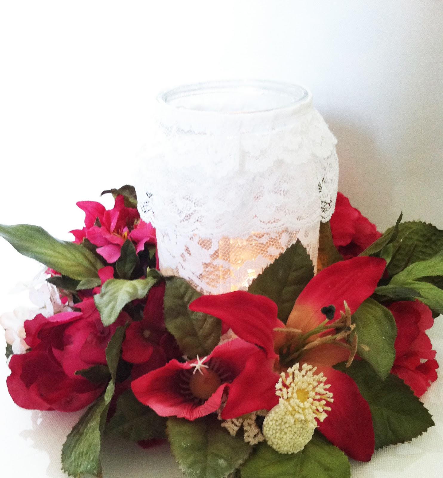 Project DIY: Lace Mason Jars  IMG_6168