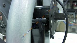 montaje pas - Montaje del sensor de pedaleo  PAS SANY0203