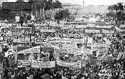 Verdades del Ataque al Palacio Presidencial el 13 de Marzo de 1957 BatistaConcentracion7deabril1957DesagravioAsalto13deMarzo