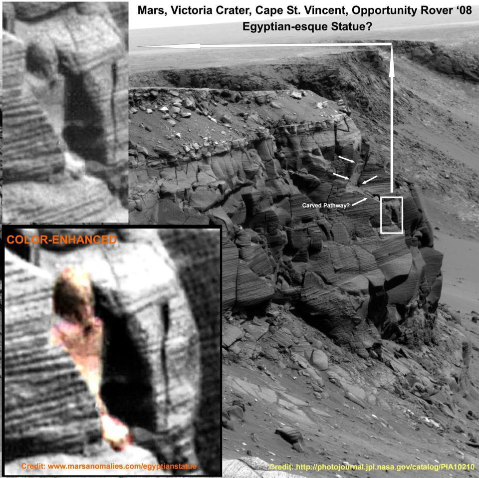 Estatua egipcia en Marte , Real o Fake ? 603205_357796590969706_1993095081_n
