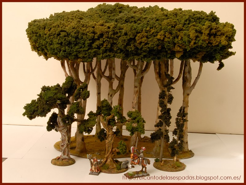 New and Old scenery. - Page 4 Wood-Tree-Arbol-Bosque-Forest-Boveda-Silvanos-Wargames-Elves-Warhammer-Escenografia-Scenery-Wargames-11