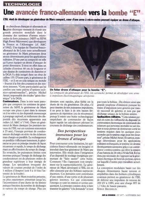 Boeing : un missile capable de désactiver tout appareil électrique E-bomb