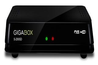 gigabox - ATUALIZAÇÃO GIGABOX S-200 SD V2.33 P