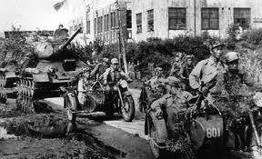 """""""¿Porqué los EEUU desataron la Guerra de Corea? """" - texto del Partido Comunista de los Obreros de Rusia-Partido Comunista Revolucionario - publicado en junio de 2013 en Amistad Hispano-Soviética Guerradecoreaavancecoreano"""