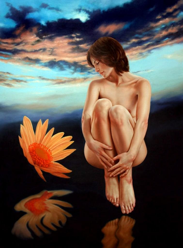 ¿Susrealismo? - Página 8 Pintura-al-oleo-desnudoa-mujer-surrealismo