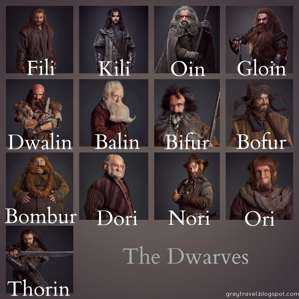 El Hobbit - Página 14 TheDwarves