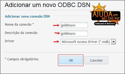 [TUTORIAL] Como Criar uma Conexão ODBC na hospedagem para Shop de MuOnline (Painel Plesk) Odbcshop4