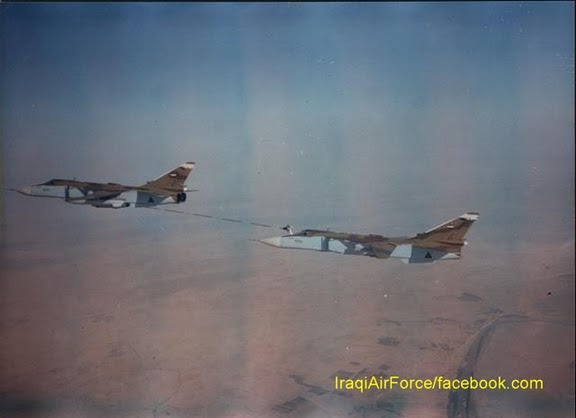المقاتله Su-24 Fencer القاذفه  IraqiAF-SU-24MK