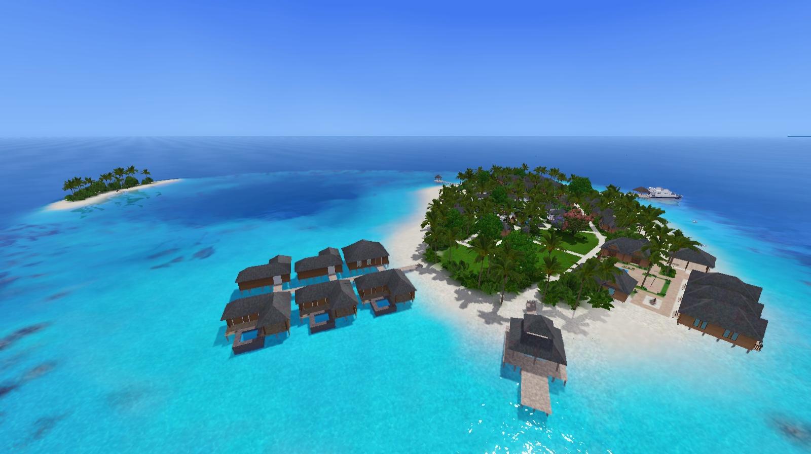 [Descarga] Mundo Suvadiva Resort, poblado. Screenshot-487