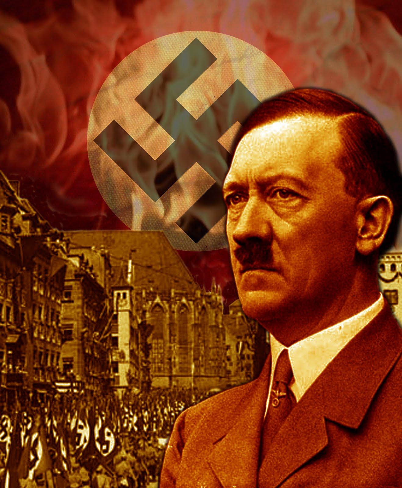Les différents visages de chaque type... Hitler