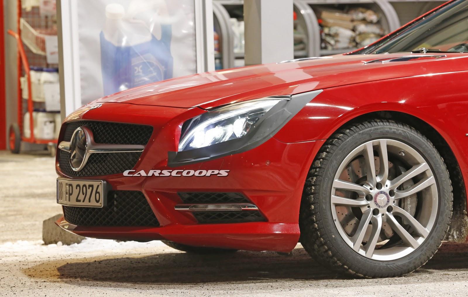 2015 - [Mercedes] SL Restylé [R231] 2017-Mercedes-SL-FL-3