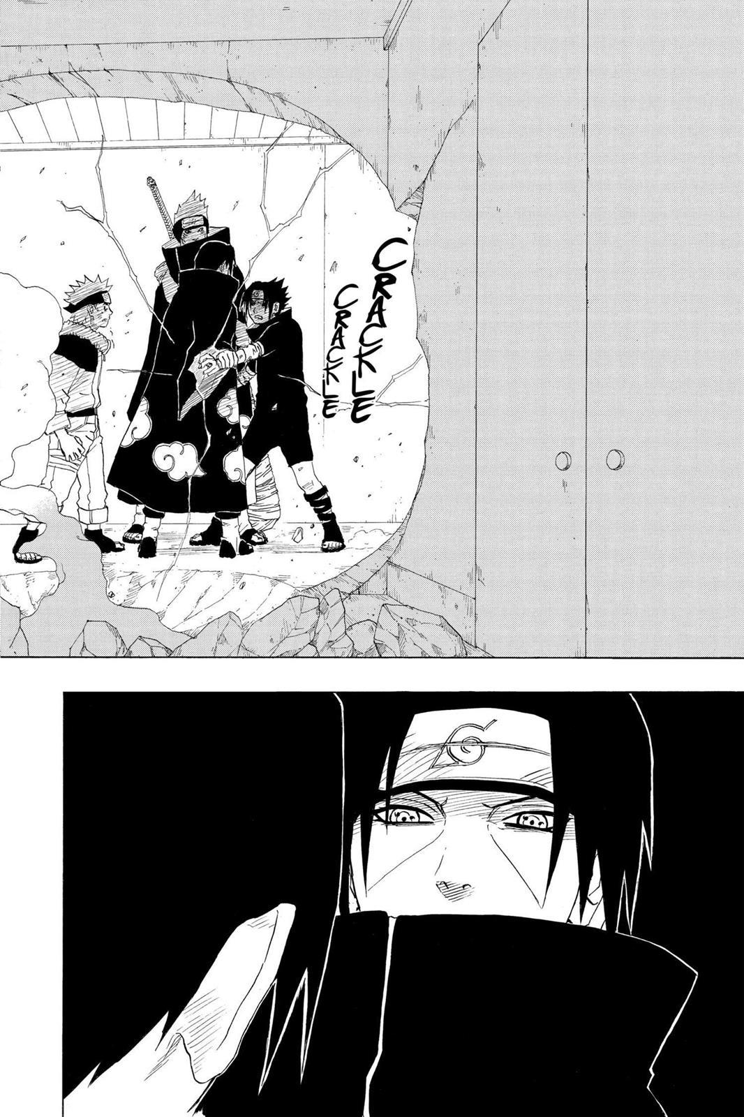 Sasuke já era de nível jonin no final de Naruto Clássico? 0146-014