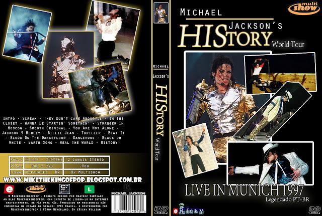 [DL] HIStory World Tour Live in Munich (Multishow) (Legendado) Capa