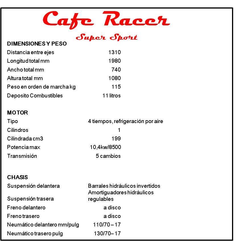 Gilera Vc 200 Sport Cafe Racer  1