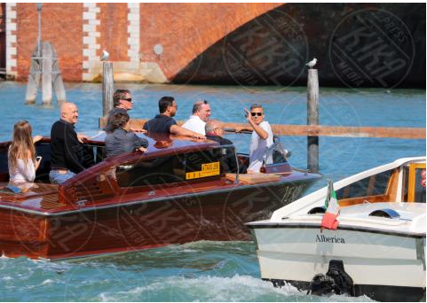 George Clooney arrives in Venice Venise5