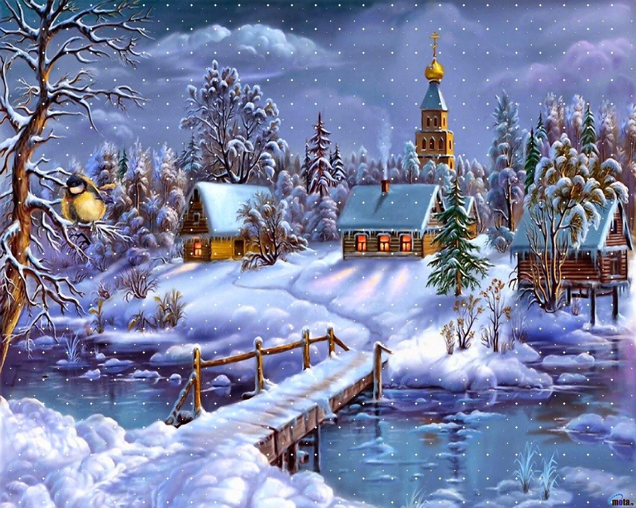 Зима... Морозная и снежная, для кого-то долгожданная, а кем-то не очень любимая, но бесспорно – прекрасная.  - Страница 2 121294-2-f